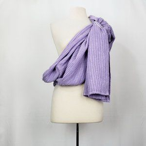 Hip Baby Wrap Ring Sling Purple White Carrier